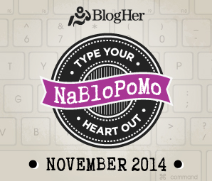 NaBloPoMo_November