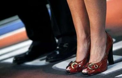 Wicked Shoes on Sarah Palin