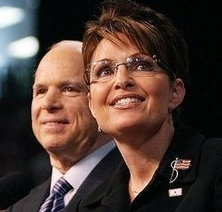 Sarah Palin Stone Cold FOX! And John McCain not quite so pretty.