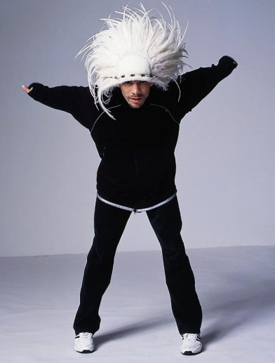 JayKay from Jamiroquai