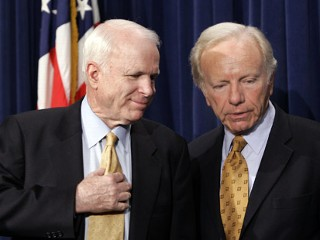 Joe Lieberman & John McCain