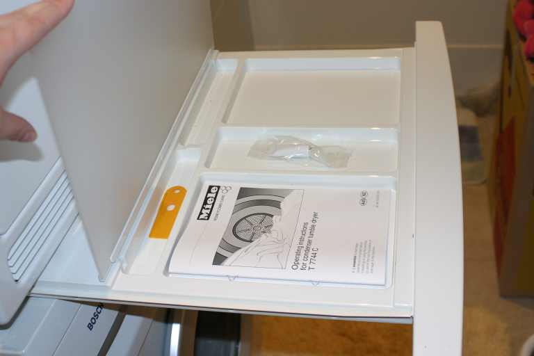 miele stacking kit instructions